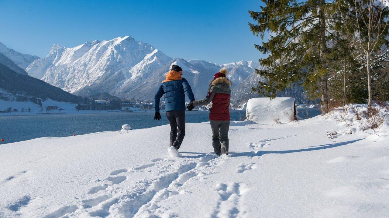 Winterwandern Achensee Tirol 1